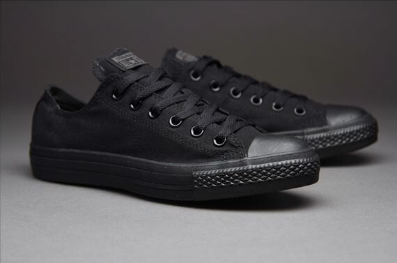 Giày Chuck Taylor All Star Ox Black Monochrome