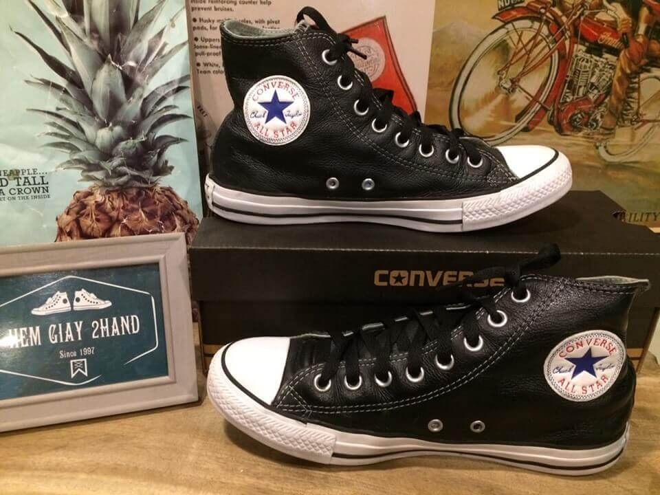 Giày converse secondhand